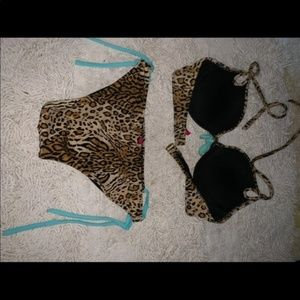 Victoria's Secret Swim - Victoria's  Secret Animal print size medium